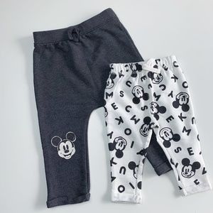 DISNEY Mickey Mouse SIBLING SET, 18M and 6M